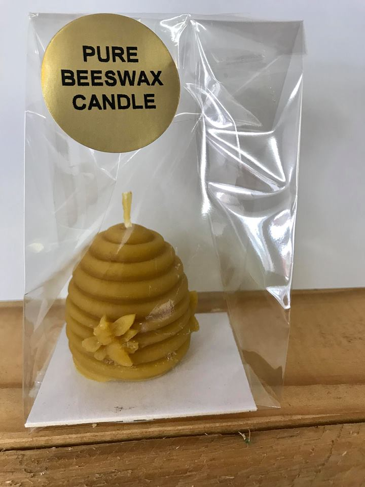Skep Bees Wax Candle